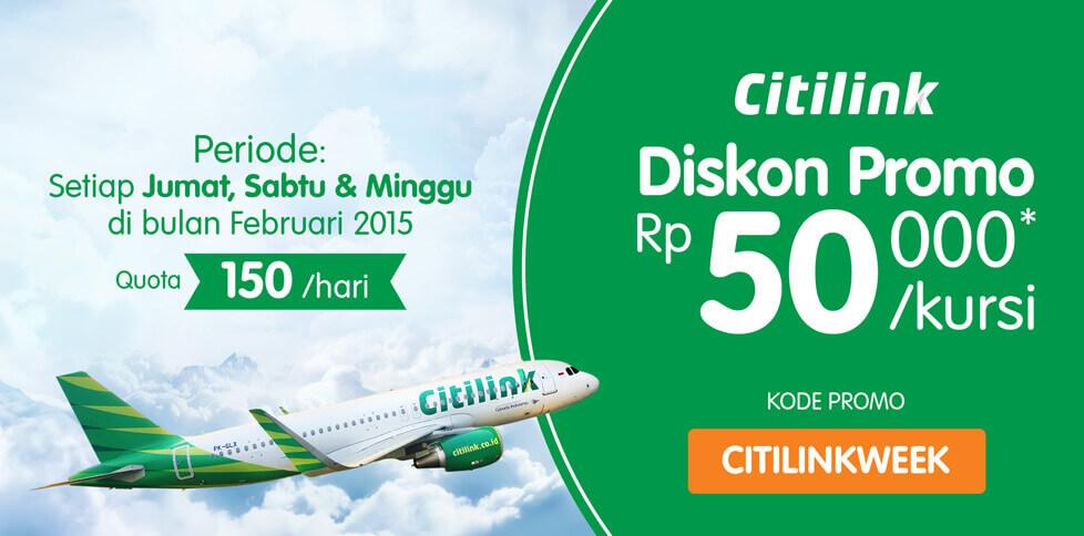Promo Citilink 2015 di Tiket.com