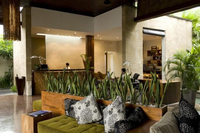 The Elysian Boutique Villa Hotel Lobby