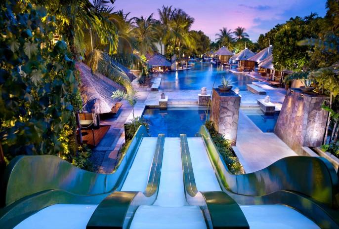 Hard Rock Hotel Bali Waterslide