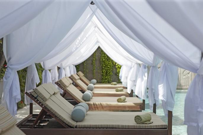The Elysian Boutique Villa Hotel Poolside Cabana