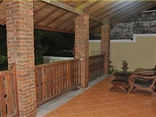 Raffles Villa Balcony