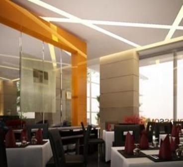Pose In Hotel Yogyakarta Restaurant
