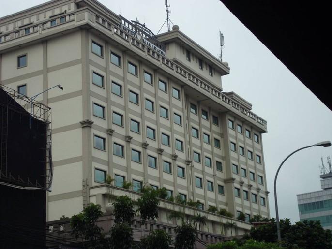 Maharadja Hotel Exterior