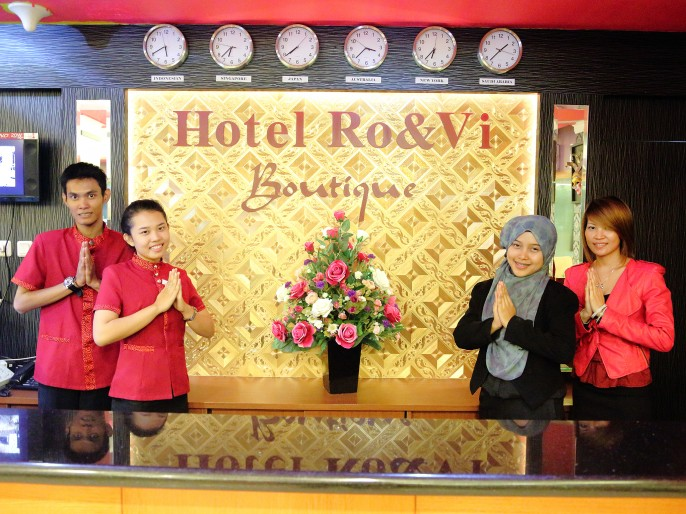 ROVI BOUTIQUE HOTEL Reception