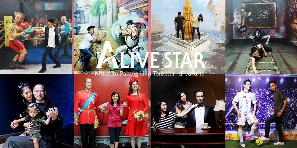 Alive Museum and Alive Star Ancol