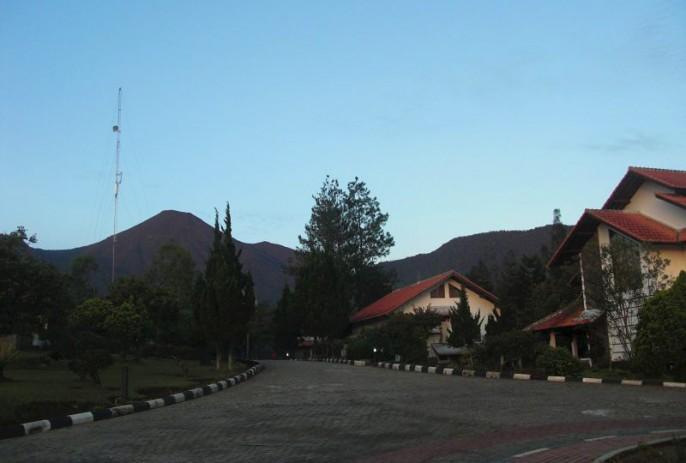 Berlian Resort Entrance