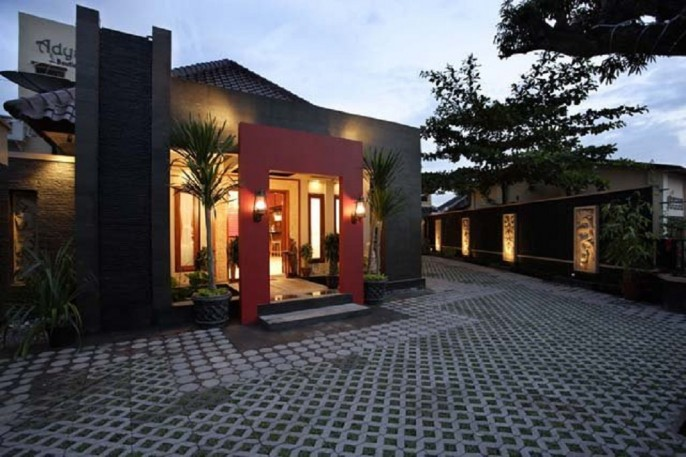 Adya Nalendra Boutique Hotel Exterior