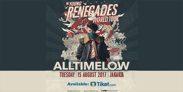 All Time Low - The Young RENEGADES World Tour Jakarta 2017