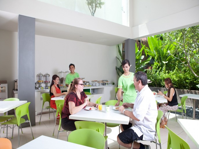 Cozy Stay Hotel Bali Buffet