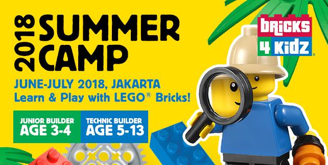Bricks 4 Kids Summer Camp 2018 Kemang Jakarta