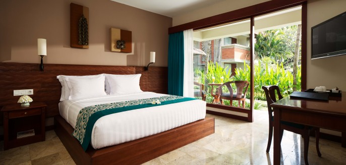 White Rose Kuta Resort, Villas & Spa Guest Room