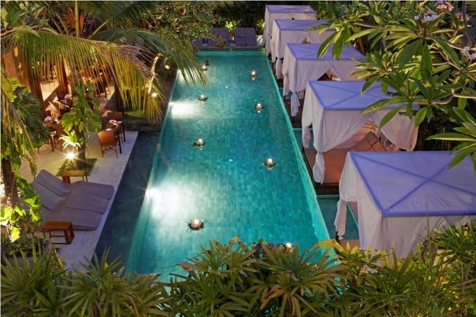 The Elysian Boutique Villa Hotel Main Pool