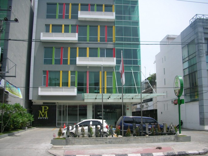 Putra Mulia Hotel Exterior