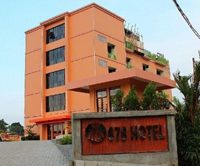 678 Hotel & Spa Exterior