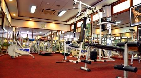 Kartika Chandra Hotel Fitness Room