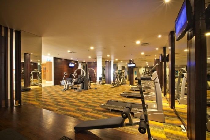 HARRIS Hotel & Conventions Malang Fitness Room