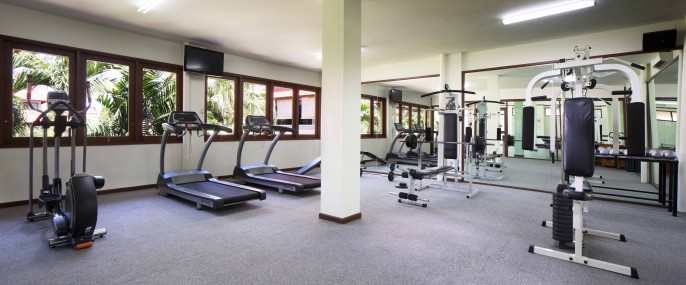 White Rose Kuta Resort, Villas & Spa Fitness Room