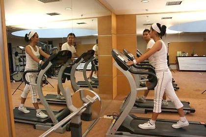 The Jayakarta Daira Palembang Fitness Room