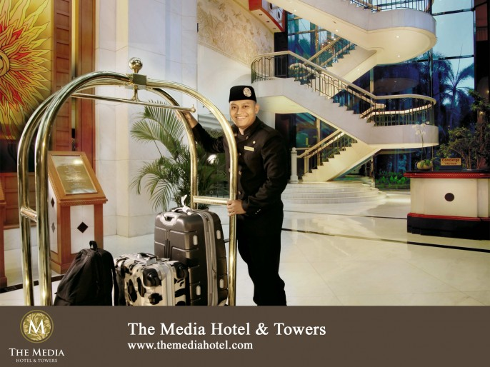 The Media Hotel & Towers Lobby