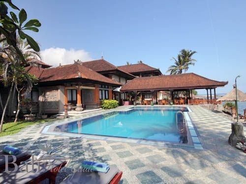 The Rishi Candidasa Beach Hotel Main Pool