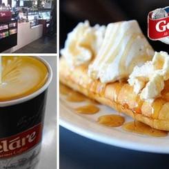 Menu at Gelare Ice Cream