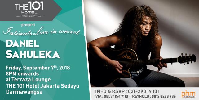 Intimate Live In Concert Daniel Sahuleka
