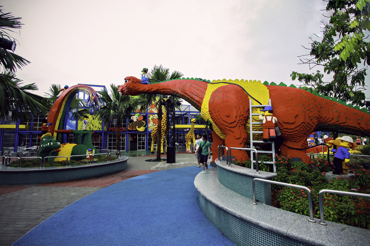 LEGOLAND Themepark and Water Park E-ticket with Transfer From Johor Bahru City