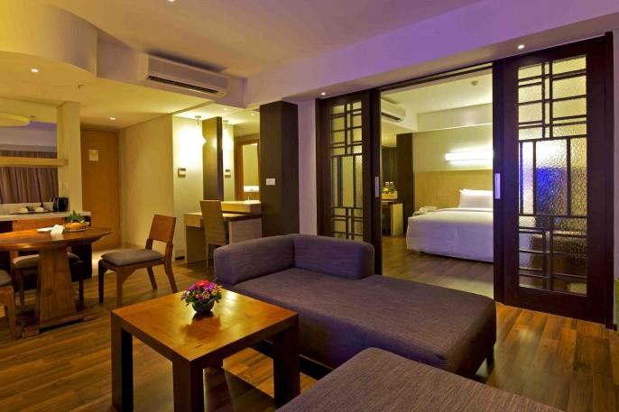 Bintang Kuta Hotel Suite Room