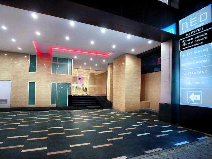 Neo Hotel Tanah Abang - Cideng, Jakarta Entrance