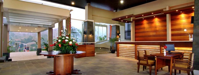 Marbella Suites Bandung Entrance