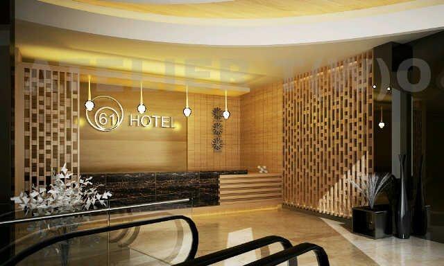 Hotel 61 Medan Balcony