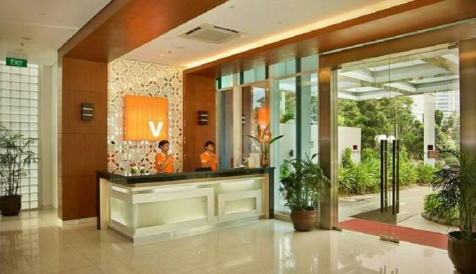 V Hotel Jakarta Lobby