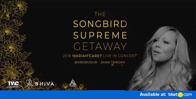 Mariah Carey Tour Package Yogyakarta 2018