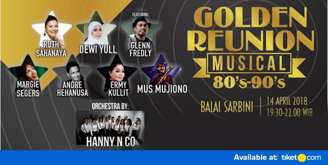 Music Concert Golden Reunion 80's to 90's Jakarta 2018