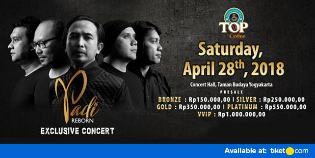 PADI Reborn Exclusive Concert DEMI CINTA Yogyakarta 2018
