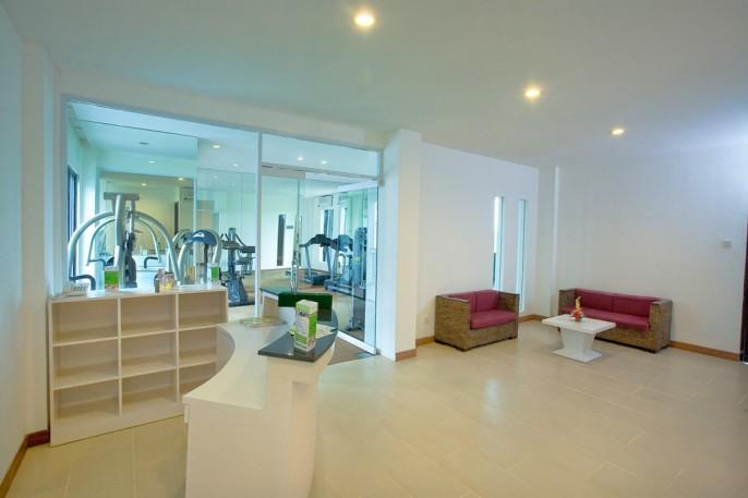 Umalas Hotel & Residence Fitness Room