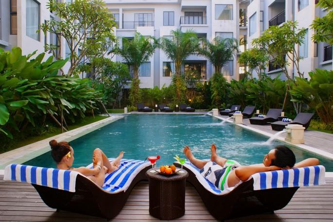 Umalas Hotel & Residence Swimming Pool