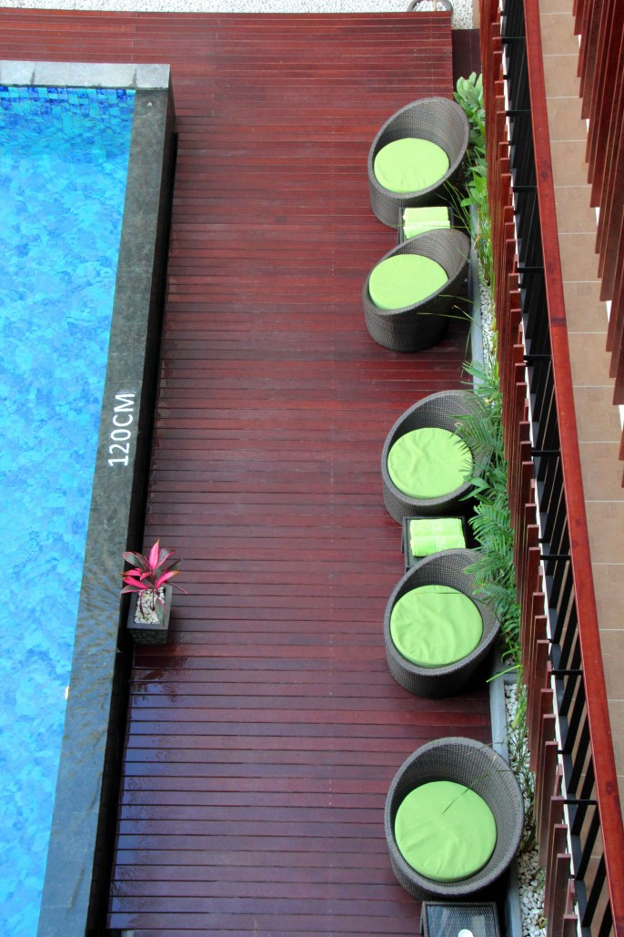 Sun Royal Hotel Kuta Balcony