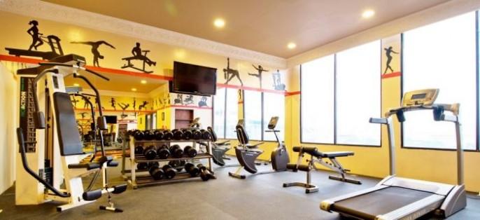 Amos Cozy Hotel Fitness Room