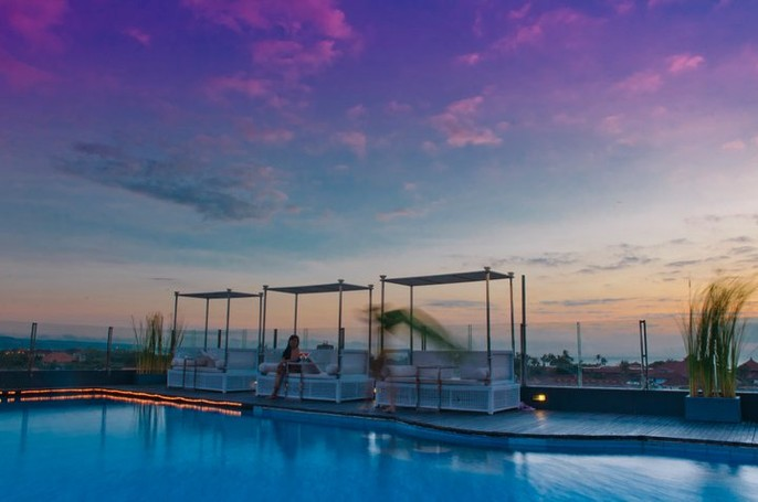 J Boutique Hotel Bali Swimming Pool