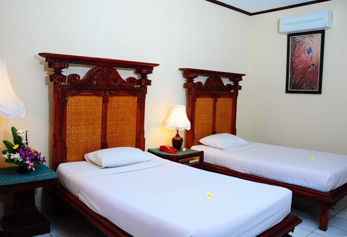 The Rishi Candidasa Beach Hotel Guest Room