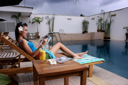 The Jayakarta Daira Palembang Swimming Pool