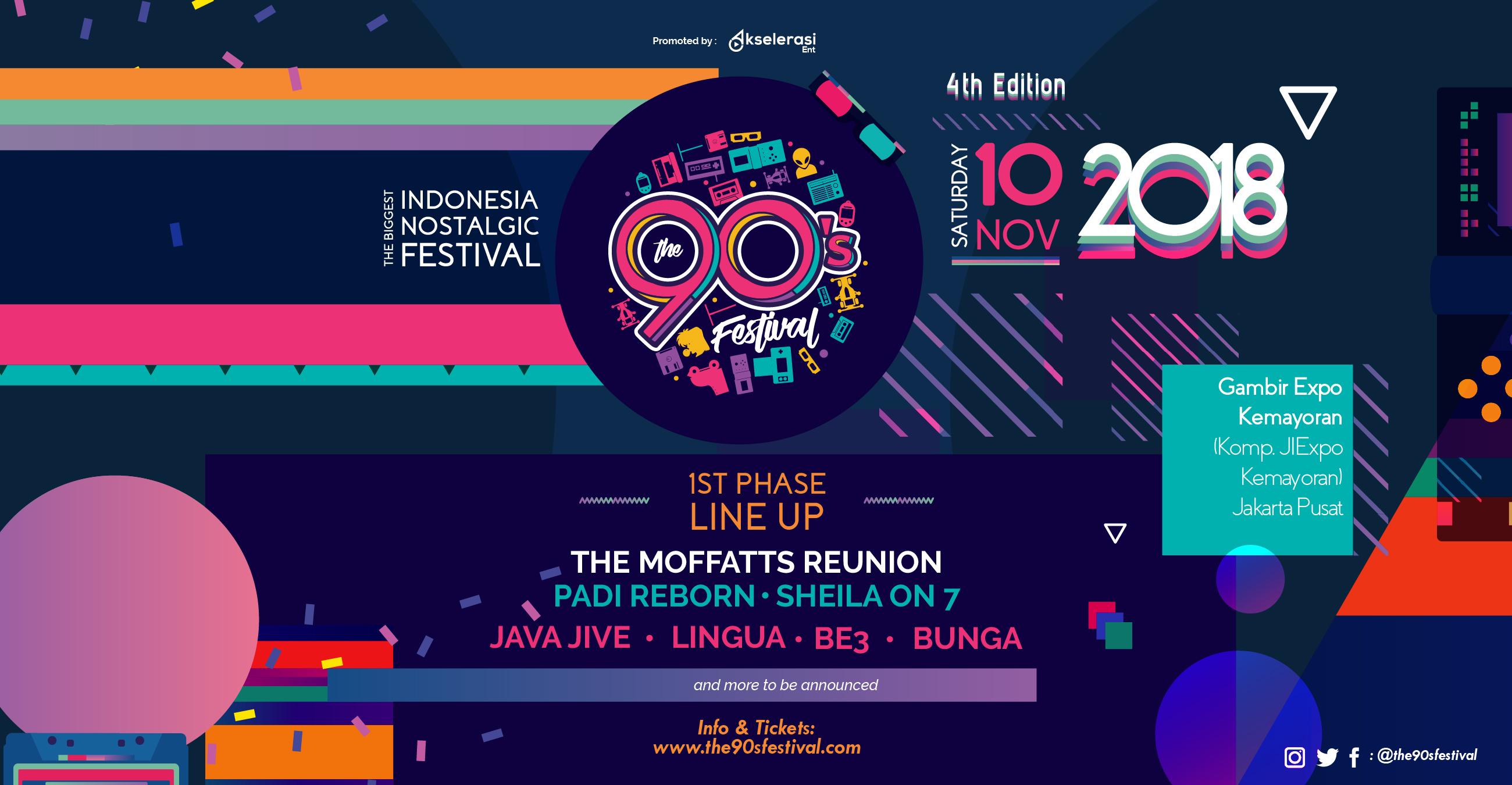 The 90's Festival 2018