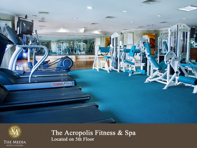 The Media Hotel & Towers Fitness Room