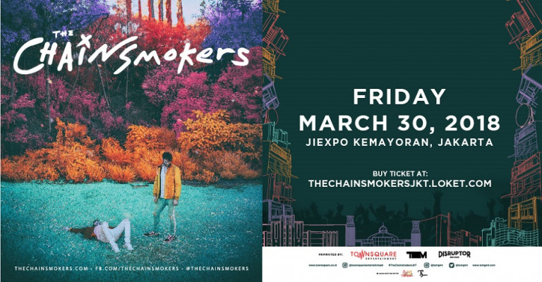 The Chainsmokers LIVE Jakarta 2018