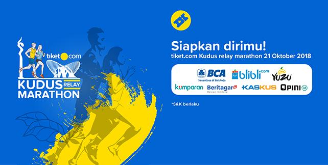 Tiket.com Kudus Relay Marathon 2018