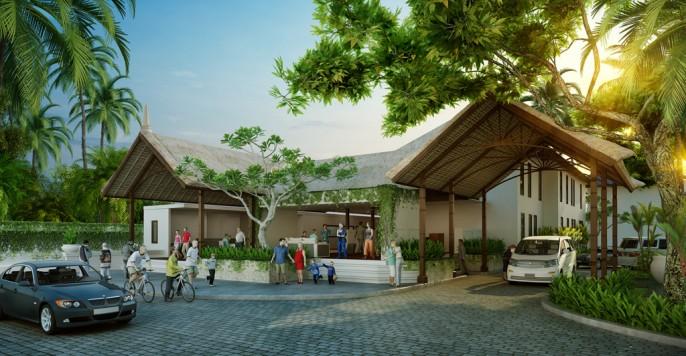 Alaya Resort Ubud Entrance