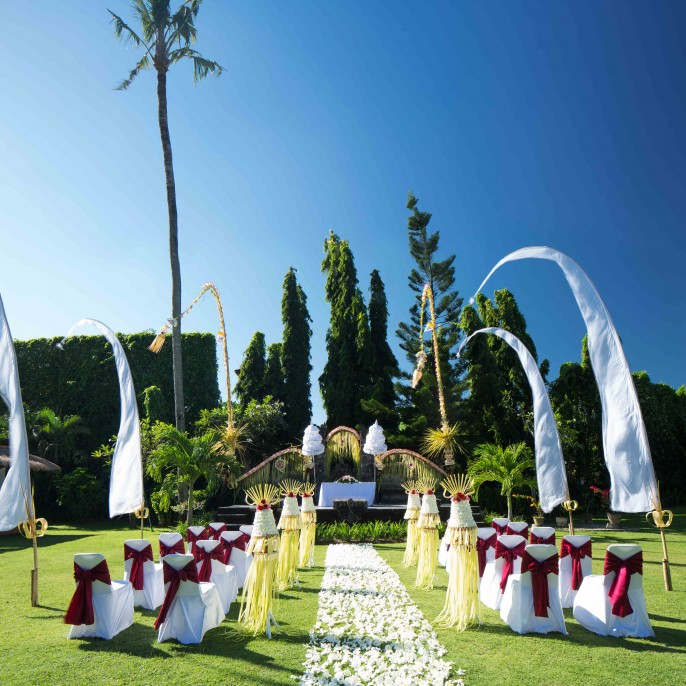 White Rose Kuta Resort, Villas & Spa Wedding