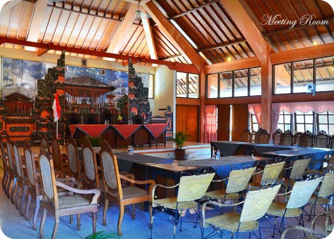 The Rishi Candidasa Beach Hotel Meeting Room