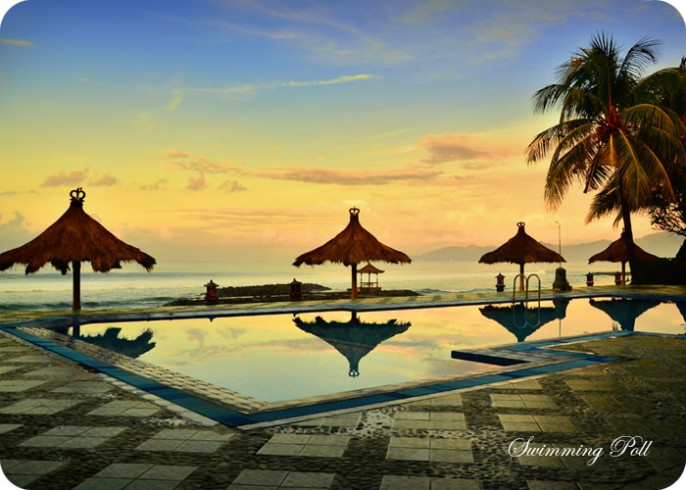 The Rishi Candidasa Beach Hotel Swimming Pool